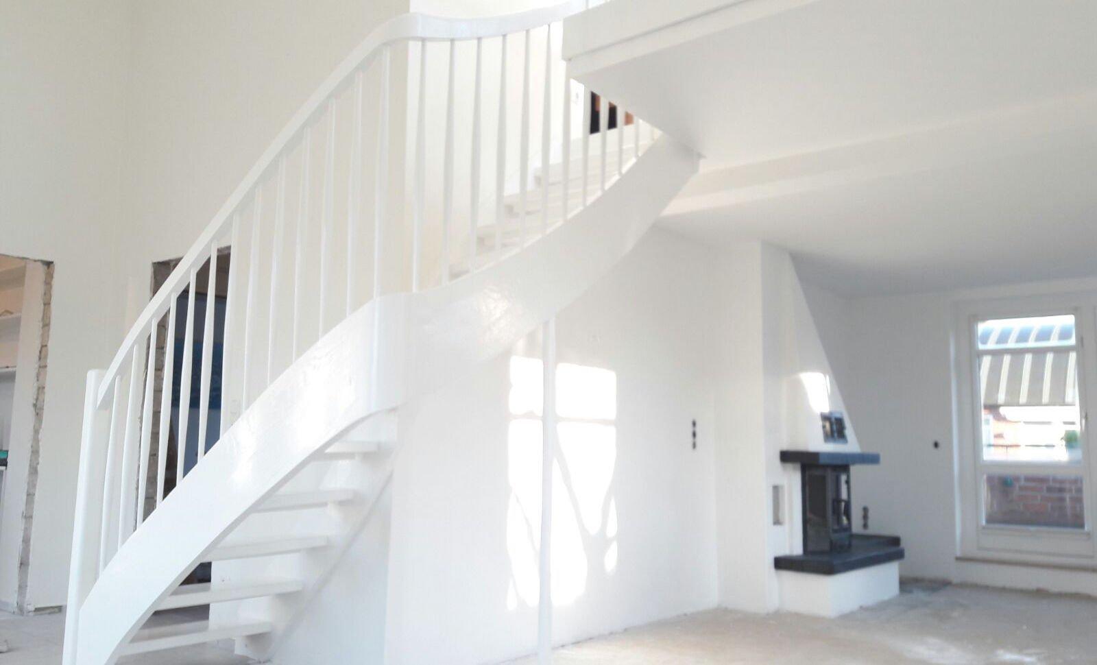 Treppenrenovierung und Treppenlackierung