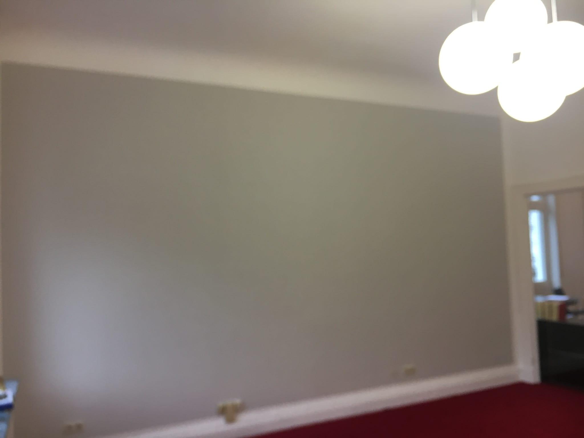 Zimmer In Grau Anstrich