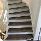 Treppen mit Vinyl bekleben lassen