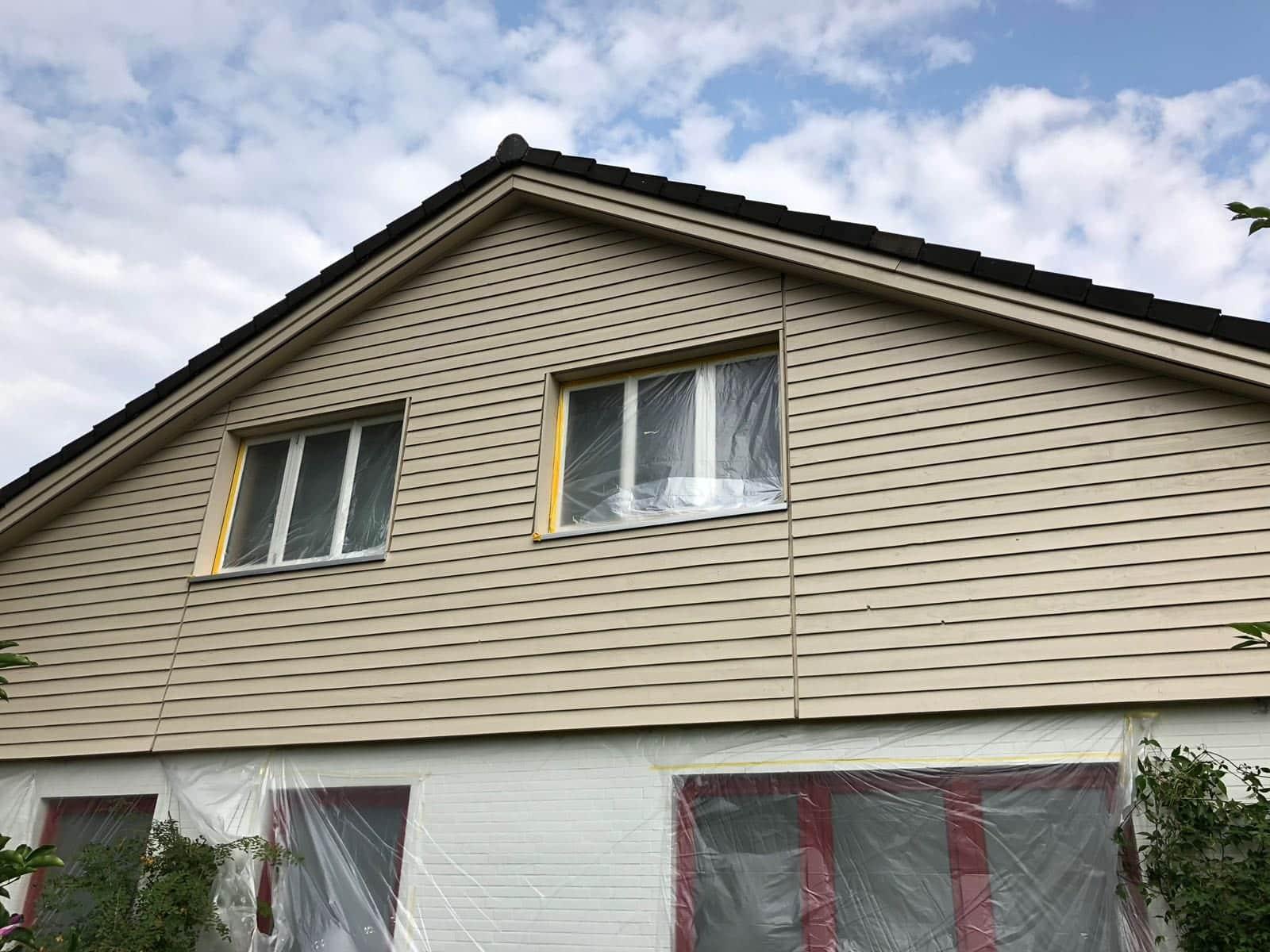 Super Fassadenanstriche - Preise & Kosten pro qm - Malermeister aus Hamburg CF89