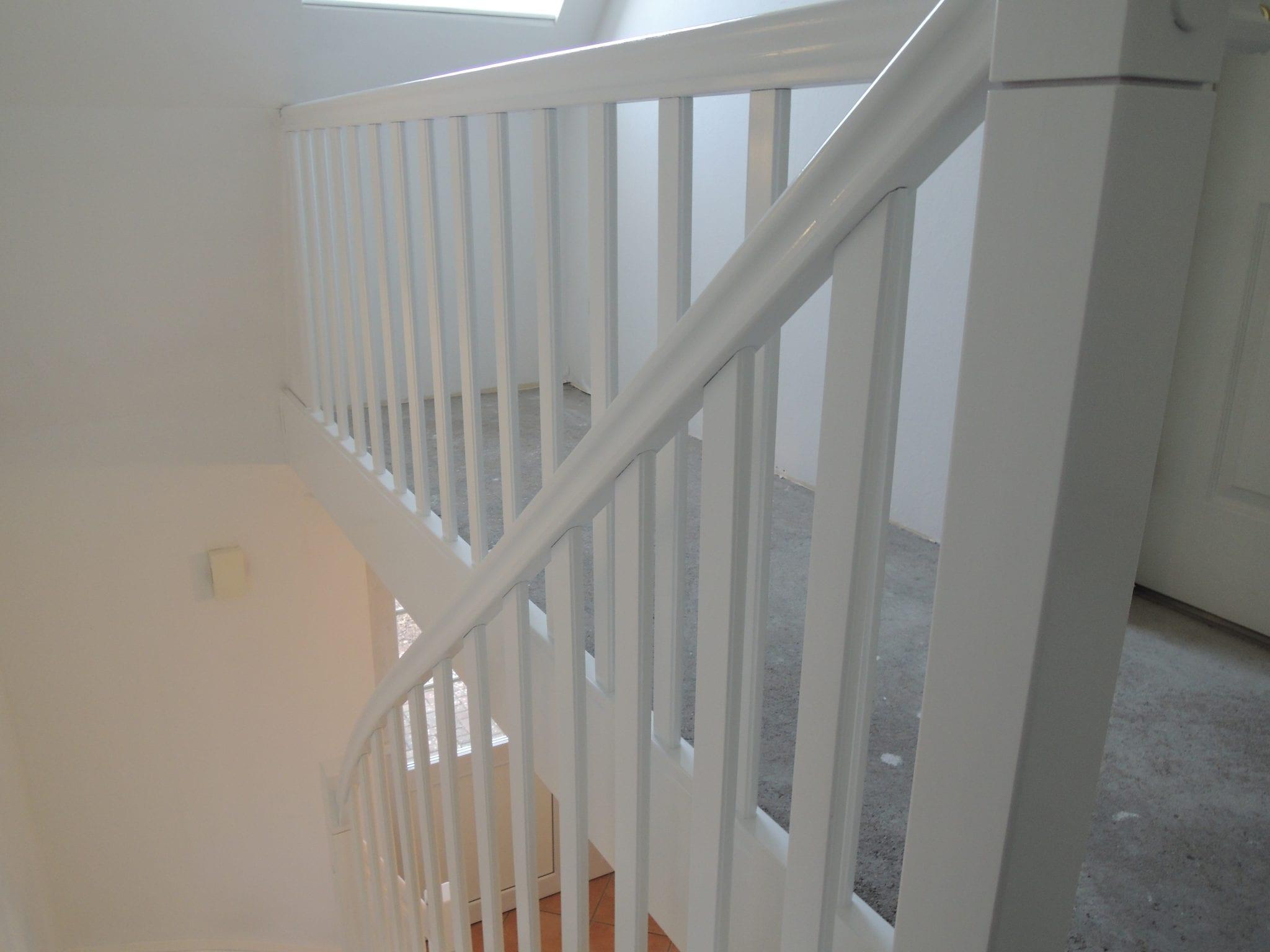 Treppen streichen